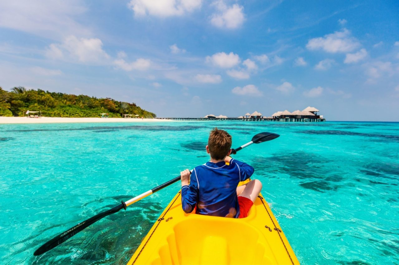 Kayak Activities to do in the Maldives
